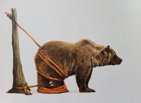 Tethered_Bear_Red